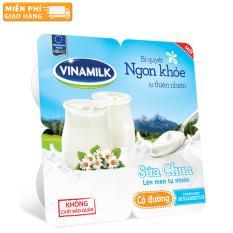 Thùng 48 Hộp Sữa chua ăn Vinamilk có đường 100g