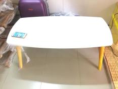 BCF Rectangle white sofa table
