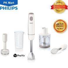 Máy xay sinh tố cầm tay Philips HR1608 (Trắng) – Hàng nhập khẩu