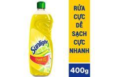 rửa chén sunlight chanh 400