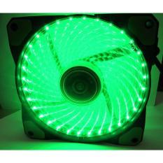 Fan led Quạt Case thông gió Fan led 12cm -36 bóng led xanh Greend