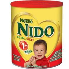 Sữa tươi dạng bột Nido nắp đỏ 1.6kg chống táo bón của Nestle Mỹ