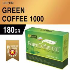 Bộ 2 hộp Coffee giảm cân Green Coffee 1000 chính hãng từ Mỹ