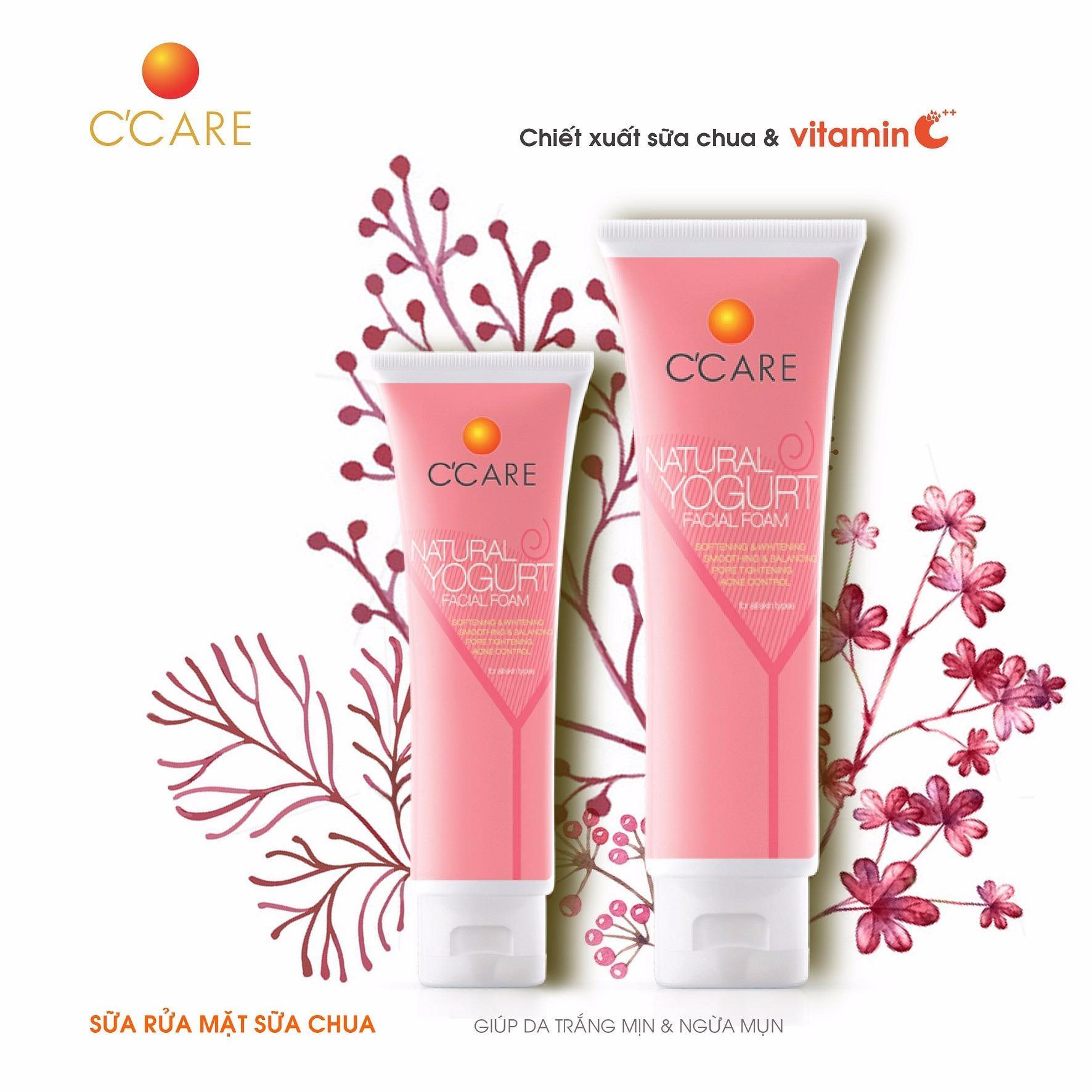 C'Care Sữa rửa mặt Sữa chua 50g - Chiết xuất sữa chua và Vitamin C