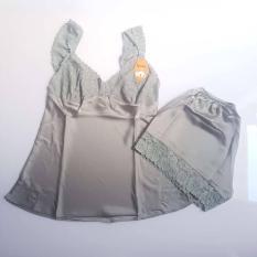 Bộ ngủ phi lụa Satin cao cấp size XL 48 – 60kg