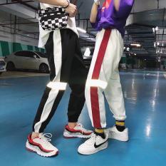 Quần Jogger Hiphop Nam Nữ Viền Vạch Phản Quang – Krixi Fashion