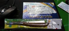 Combo Bàn cạo cán Gỗ và Hộp 100 Lưỡi Lam Dorco (Tặg Lưỡi Dorco)
