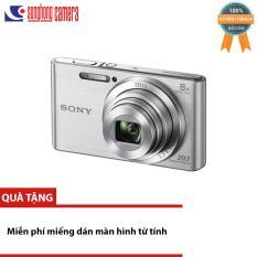 Máy ảnh KTS Sony DSC W830 20.1 và Zoom quang 8x (Bạc) – HÀNG CHÍNH HÃNG