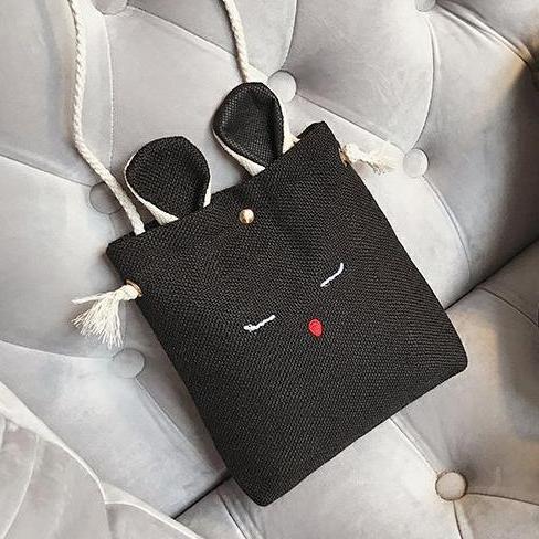 Túi đeo vai – đeo chéo bố thời trang NATI-HN391 (30x40cm-ảnh thật)