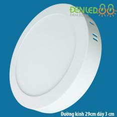 Đèn Ốp trần 24w tròn trắng áng sáng trắng