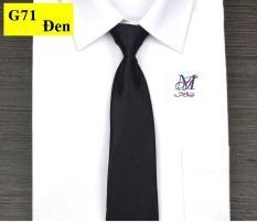 Cà vạt chun không thắt bản nhỏ màu trơn trang trọng thanh lịch thời trang Nam Timashop26 ( JQ01 )