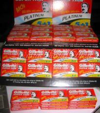 Bộ 4 hộp Lưỡi lam Gillette Super Thin 6 lưỡi/hộp