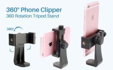 Phụ kiện camera hành trình – Đầu kẹp điện thoại mẫu mới 4.7″ -> 7″ (Đen)