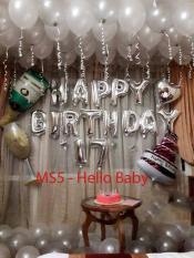 MS5 – Combo trang trí sinh nhật (Tặng kèm bơm bóng + băng dính + ruy băng)