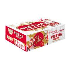Thùng Bia Việt Hà 24 lon (330ml)
