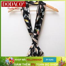 Khăn choàng nữ phụ kiện nữ thời trang nữ DODACO DDC1939 – (Nhiều màu)