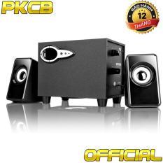 Loa Nghe nhạc điện thoại Máy Tính Tivi vi Tính bass treb PKCB 301 3 trong 1 nghe nhạc PF7