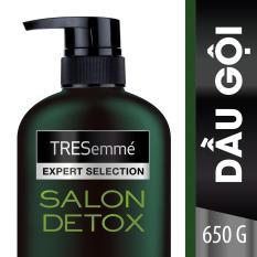 Dầu gội TRESemmé Salon Detox Tóc Chắc khỏe chuẩn Salon tại nhà 650g