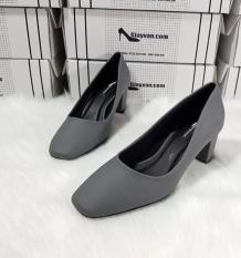 Giày mũi vuông Ah10