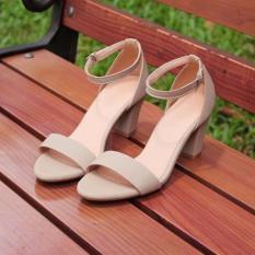 Giày cao gót quai ngang mờ 5p MYS