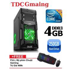 Máy tính game TDCGaming intel core i3 2100/ Ram 4gb/ Hdd 250gb – Tặng phím chuột giả cơ chuyên game – Bảo hành 24 tháng 1 đôi 1.