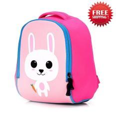 Balo trẻ em siêu nhẹ Zoo Rabit (Pink)