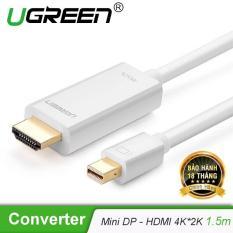 Cáp Mini DisplayPort (Thunderbolt) sang HDMI độ phân giải 2kx4K dài 1.5m UGREEN MD101