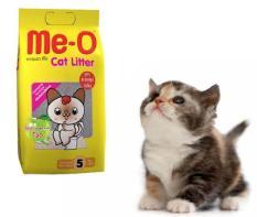 Cát vệ sinh cho mèo hương táo thương hiệu ME-O