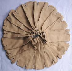 Combo 10 Đôi Vớ Nữ Xỏ Ngón Chất Liệu Vải Cotton Co Giản Thoải Mái Mềm Mại ( Màu Vàng Lạc Đà) Thích Hợp Mọi Loại Giày
