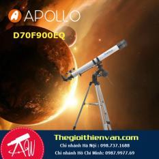 Kính thiên văn khúc xạ APOLLO 70F900EQ-2(Xám)