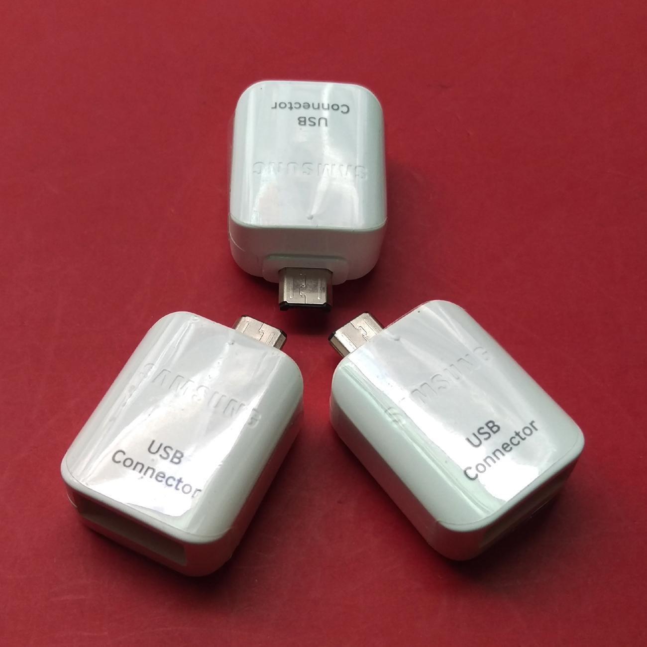 [HCM]Đầu chuyển Micro USB OTG Samsung cho máy tính bảng và smart phone (Trắng) - Hàng Nhập Khẩu Chính Hiệu