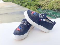Giày lười thời trang bé gái RS159 (Xanh) Size 29-38
