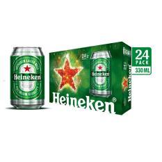 Thùng bia 24 lon Heineken lon thường bao bì tết