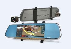 Camera hành trình CMPD370 (DẠNG GƯƠNG CHIẾU HẬU 2.7 inch HD 1080P)