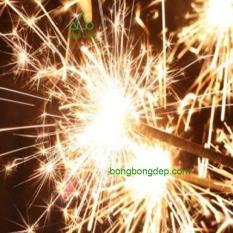 10 pháo bông que dài 30cm cầm tay phụ kiện trang trí sinh nhật, sự kiện – Diệp Linh