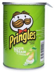 Snack Khoai Tây Pringles Vị Kem Chua & Hành Hộp 42 G