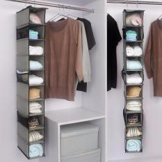 Túi vải treo đồ 10 tầng đa năng tiện dụng dễ dàng gấp gọn