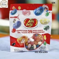 Kẹo dẻo Jelly Belly 70g – mua 4 gói tặng máy bán kẹo
