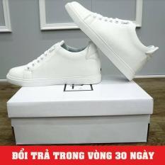 Giày Sneaker Nam Độn Đế 6cm Trắng 2019 (Giá Cực Sốc) – KINGSHOES (KS01)