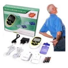 [Hang Xịn] Máy Masage Vai Cổ Gáy , Trị Đau Lưng Cột Sống, Mua Ngay Máy Massage Trị Liệu 8 Miếng Dán Đa Năng Đầu Ra Kép Cao Cấp, Giảm Đau Nhức Hiệu Quả, Bh Uy Tín 1 Đổi 1 Bởi TENTEN – Bảo Hàng 1 đổi 1