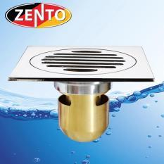 Phễu thoát sàn chống mùi hôi Zento ZT559 (12cmx12cm)