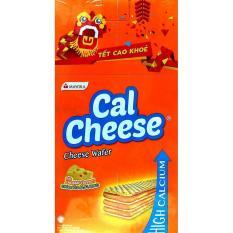 Bánh xốp phô mai Cal Cheese Mayora hộp 20 x 8.5g