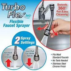 Vòi xịt rửa bát tăng áp TURBO FLEX 360