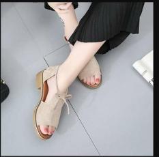 Giày sandal chiến binh thắt nơ