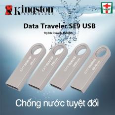 USB 32GB Kingston vỏ kim loại nguyên khối chống nước Tốc độ sao chép dữ liệu tốt