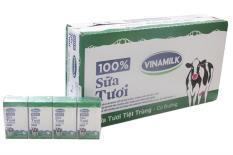 Bộ 12 lốc 4 sữa tươi tiệt trùng 100% có đường 110ml