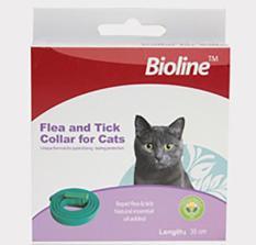 Vòng đeo chống ve bọ chét cho mèo_vòng Bioline cho mèo