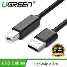 Cáp máy in USB2.0 dài 5m UGREEN 10329 – Hãng phân phối chính thức