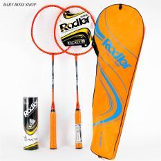 [ TẶNG CẦU LÔNG ] Bộ 2 vợt cầu lông Roadler khung hợp kim siêu bền