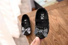 Giày công chúa bé gái kim sa lấp lánh size 21-30